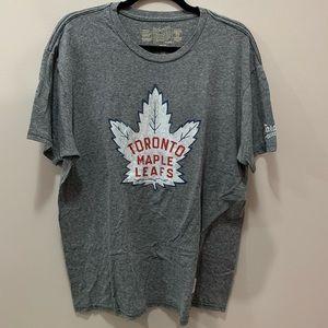 Retro Brand Toronto Maple Leafs Gray Heathered